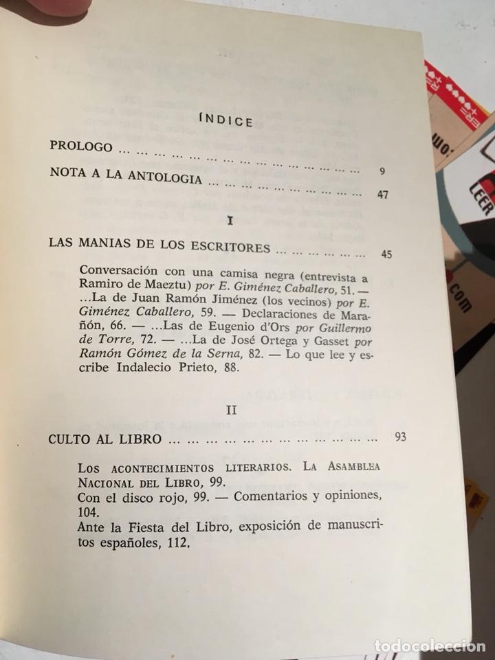Libros de segunda mano: LA IDEOLOGIA DE LOS ESCRITORES - LITERATURA Y POLITICA EN GACETA LITERARIA (1927 - 1932) - BASSOLAS - Foto 5 - 86258400