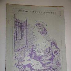 Libros de segunda mano: HISTORIA DEL CONSERVATORIO DE MÚSICA DE LA EXCMA DIPUTACIÓN PROVINCIAL DE BADAJOZ - MANOLA ARCAS. Lote 191695320