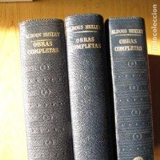 Livres d'occasion: OBRAS COMPLETAS DE ALDOUS HUXLEY.- 3 VOLS.- PLAZA&JANÉS.- 1967-70. Lote 192193533