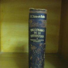 Libros de segunda mano: ENSAYO DE UN DICCIONARIO DE LA LITERATURA. TOMO I. AGUILAR S.A. DE EDICIONES. MADRID 1949.. Lote 193791320