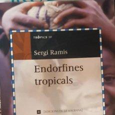 Libros de segunda mano: ENDORFINES TROPICALS (CATALÁN). Lote 194233055