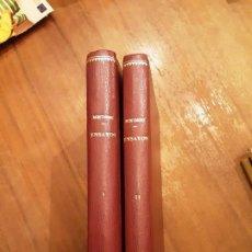 Libros de segunda mano: ENSAYOS - MONTAIGNE - 2 TOMOS PIEL. AGUILAR 1962. ÚNICO. PERFECTO ESTADO. Lote 194238220