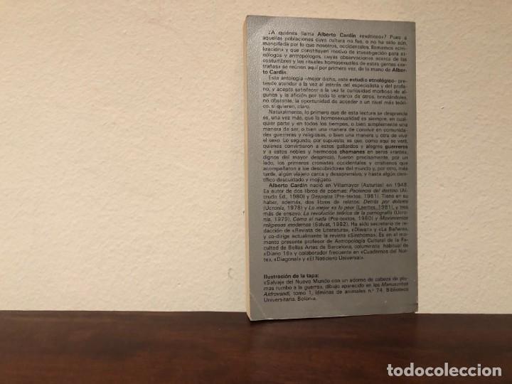Libros de segunda mano: Guerreros, chamanes y travestis. Indicios de homosexualidad entre los exóticos. A. Cardín Tusquets - Foto 2 - 194249338