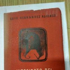 Libros de segunda mano: VIRREINATO DEL PERU-LUIS HERNANDEZ ALFONSO-EDITORIA NACIONAL 1945. Lote 194261577