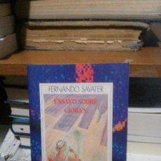 Libros de segunda mano: FERNANDO SAVATER, ENSAYO SOBRE CIORAN, AUSTRAL. Lote 194512901