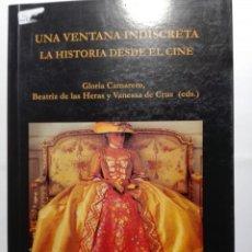 Libros de segunda mano: UNA VENTANA INDISCRETA. LA HISTORIA DESDE EL CINE.. Lote 194586986