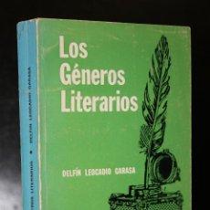 Libros de segunda mano: LOS GÉNEROS LITERARIOS.. Lote 194622676