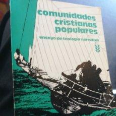 Libros de segunda mano: COMUNIDADES CRISTIANAS POPULARES JUAN JOSÉ TAMAYO ACOSTA SALAMANCA 1981. Lote 194661811