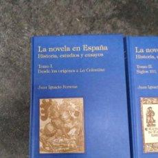 Libros de segunda mano: LA NOVELA EN ESPAÑA. HISTORIA, ESTUDIOS Y ENSAYOS TOMO I. DESDE LOS ORÍGENES A LA CELESTINA. Lote 194665127