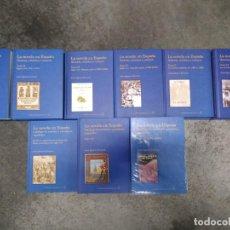 Libros de segunda mano: COLECCIÓN COMPLETA DE LA NOVELA EN ESPAÑA. 9 TOMOS. NUEVOS. LA BIBLIOTECA DEL LABERINTO. Lote 194667973