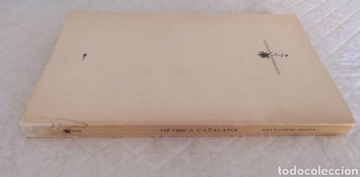 Libros de segunda mano: Mètrica catalana. Salvador Oliva. Edicions dels Quaderns crema, 1980. Libro - Foto 8 - 194886811