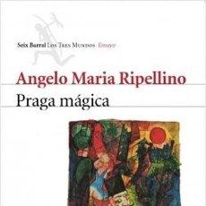 Libros de segunda mano: RIPELLINO - PRAGA MÁGICA - HASEK - KAFKA - APOLLINAIRE - RILKE - WERFEL - SEIFERT - PERUTZ - BOHEMIA. Lote 194936448