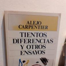 Libros de segunda mano: TIENTOS DIFERENTES Y OTROS ENSAYOS-ALEJO CARPENTIER. Lote 195090932
