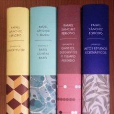 Libros de segunda mano: RAFAEL SÁNCHEZ FERLOSIO - ENSAYOS - 4 VOLÚMENES - DEBATE. Lote 195094211