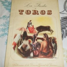 Libros de segunda mano: LA FIESTA DE TOROS COSSIO ILUSTRA SERNY PUBLICACION DIRECCIÓN GENERAL DE TURISMO TOREROS CORRIDAS. Lote 195150381