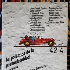 Libros de segunda mano: JOSÉ TONO MARTÍNEZ (ED.) . LA POLÉMICA DE LA POSMODERNIDAD. Lote 195161070