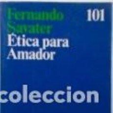 Libros de segunda mano: FERNANDO SAVATER ETICA PARA AMADOR ARIEL DEDICATORIA EN LA PAGINA 3 (PAGINA EN BLANCO). Lote 195512872