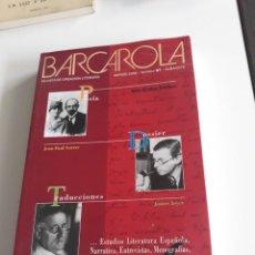 Libros de segunda mano: BARCAROLA - REVISTA DE CREACION LITERARIA - MARZO 2006. Nº. 67.. Lote 196241832