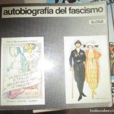 Livros em segunda mão: AUTOBIOGRAFIA DEL FASCISMO - EDITORIAL GLOSA - 1977. Lote 196327668