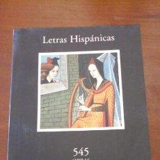 Libros de segunda mano: LETRAS HIPÁNICAS: 545 OBRAS/ LETRAS UNIVERSALES: 350 OBRAS. CATÁLOGO DE LA EDITORIAL CÁTEDRA (MADRID. Lote 199194582