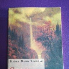 Libros de segunda mano: COLORES DE OTOÑO. HENRY DAVID THOREAU. OLAÑETA. Lote 199226013