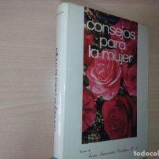 Libros de segunda mano: CONSEJOS PARA LA MUJER - CONCHA SUAREZ DEL OTERO (CONSEJOS PARA LAS SEÑORAS DE CIERTA EDAD). Lote 200661520