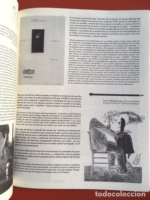 Libros de segunda mano: VACACIONES EN POLONIA - 4 - LITERATURAS ANTROPOFAGAS - ILUSTRADA - EL OJO PORTÁTIL - Foto 7 - 202744200