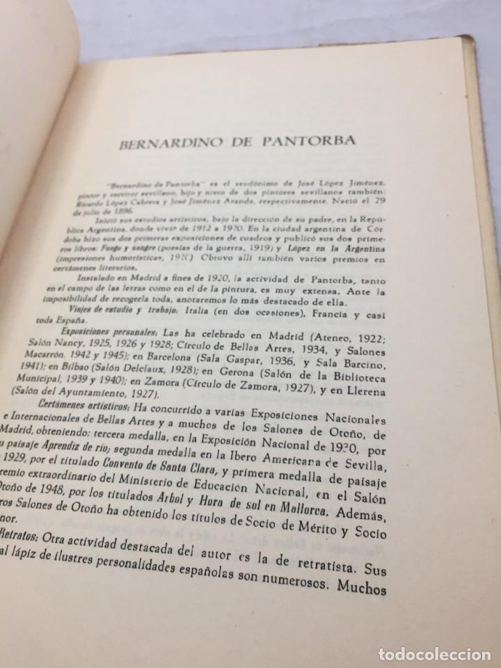 Libros de segunda mano: Pintura antigua y moderna. Bernardino de Pantorba. Conferencia Caja de Ahorros de Asturias, 1956 - Foto 4 - 202937716