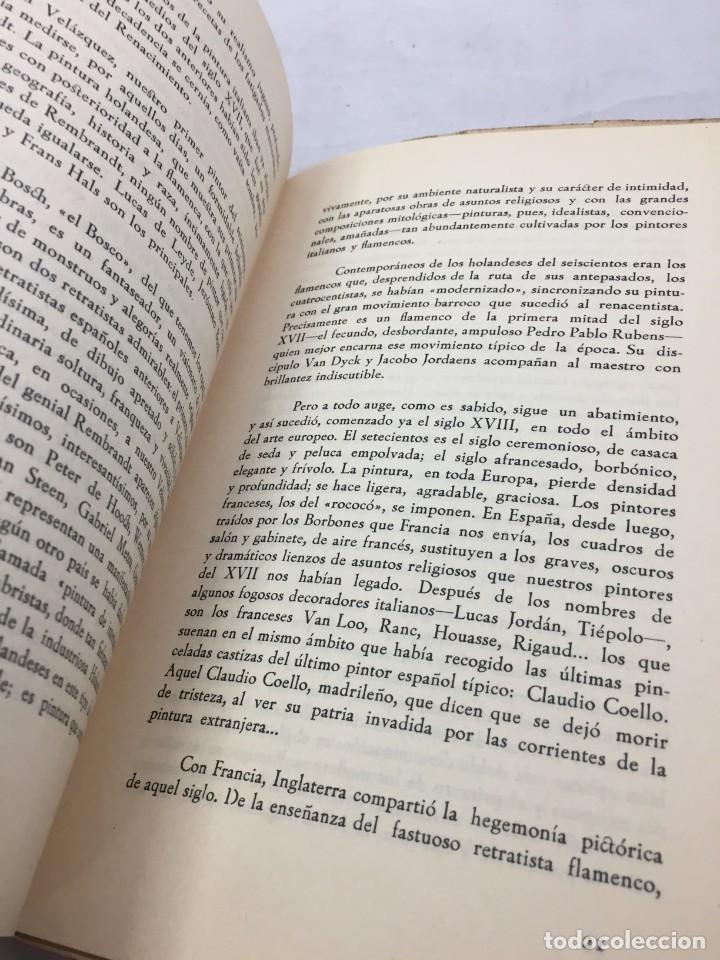 Libros de segunda mano: Pintura antigua y moderna. Bernardino de Pantorba. Conferencia Caja de Ahorros de Asturias, 1956 - Foto 5 - 202937716