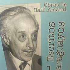 Libros de segunda mano: ESCRITOS PARAGUAYOS 1. INTRODUCCIÓN A LA CULTURA NACIONAL. Lote 203215865