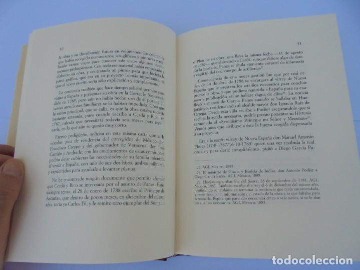 Libros de segunda mano: DIARIO PARTICULAR DEL CAMINO QUE SIGUE UN VIRREY DE MEXICO. DIEGO GARCIA PANES. CEHOPU. 1994 - Foto 11 - 205047815