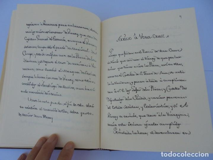 Libros de segunda mano: DIARIO PARTICULAR DEL CAMINO QUE SIGUE UN VIRREY DE MEXICO. DIEGO GARCIA PANES. CEHOPU. 1994 - Foto 15 - 205047815