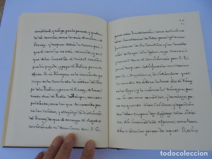 Libros de segunda mano: DIARIO PARTICULAR DEL CAMINO QUE SIGUE UN VIRREY DE MEXICO. DIEGO GARCIA PANES. CEHOPU. 1994 - Foto 16 - 205047815