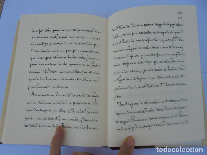 Libros de segunda mano: DIARIO PARTICULAR DEL CAMINO QUE SIGUE UN VIRREY DE MEXICO. DIEGO GARCIA PANES. CEHOPU. 1994 - Foto 17 - 205047815