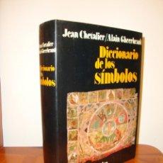 Libros de segunda mano: DICCIONARIO DE LOS SÍMBOLOS - JEAN CHEVALIER, ALAIN GHEERBRANT - HERDER, MUY BUEN ESTADO. Lote 205644466