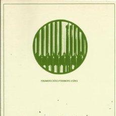 Libros de segunda mano: LA SOCIOLOGÍA EN ORTEGA Y GASSET. JESÚS MARÍA OSÉS GORRAIZ. BARCELONA, ANTHROPOS, 1989.. Lote 206234961