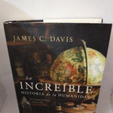 Libros de segunda mano: LA INCREÍBLE HISTORIA DE LA HUMANIDAD. Lote 206469871