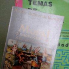 Libros de segunda mano: MORAL Y NUEVA CULTURA. - RUBERT DE VENTOS, XAVIER.. Lote 207229006