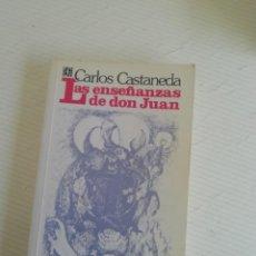 Libros de segunda mano: LAS ENSEÑANZAS DE D. JUAN DE CASTAÑEDA. Lote 207805280