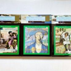 Libros de segunda mano: VOLS. 1, 2, 3 - CUENTOS MAGICOS / IPUIN MAGIKOAK - NARRACIONES DE LA CULTURA POPULAR (ETOR - HOSTOA). Lote 207925050