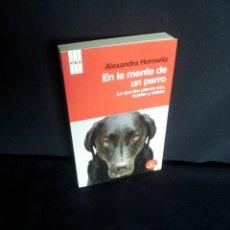 Libros de segunda mano: ALEXANDRA HOROWITZ - EN LA MENTE DE UN PERRO, LO QUE LOS PERROS VEN, HUELEN Y SABEN - RBA 2011. Lote 208045545