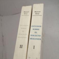 Libros de segunda mano: ESTUDIOS SOBRE EL DIALECTO ARAGONÉS. TOMOS I Y II. Lote 209734963