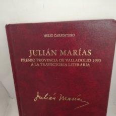 Libros de segunda mano: JULIÁN MARÍAS. PREMIO PROVINCIA DE VALLADOLID 1995 A LA TRAYECTORIA LITERARIA. Lote 210076630