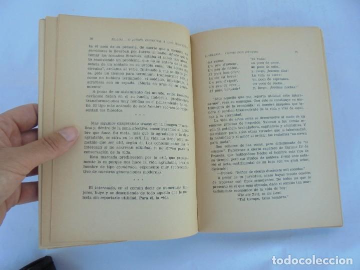 Libros de segunda mano: ELLOS... O ¿COMO CONOCER A LOS HOMBRES?. MARIA ROSA VILAHUR. DEDICADO POR LA AUTORA. 1953 - Foto 13 - 210394010