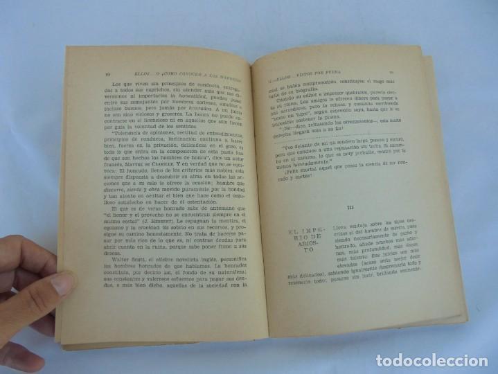 Libros de segunda mano: ELLOS... O ¿COMO CONOCER A LOS HOMBRES?. MARIA ROSA VILAHUR. DEDICADO POR LA AUTORA. 1953 - Foto 16 - 210394010