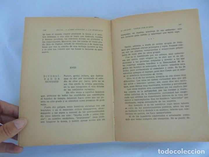 Libros de segunda mano: ELLOS... O ¿COMO CONOCER A LOS HOMBRES?. MARIA ROSA VILAHUR. DEDICADO POR LA AUTORA. 1953 - Foto 17 - 210394010