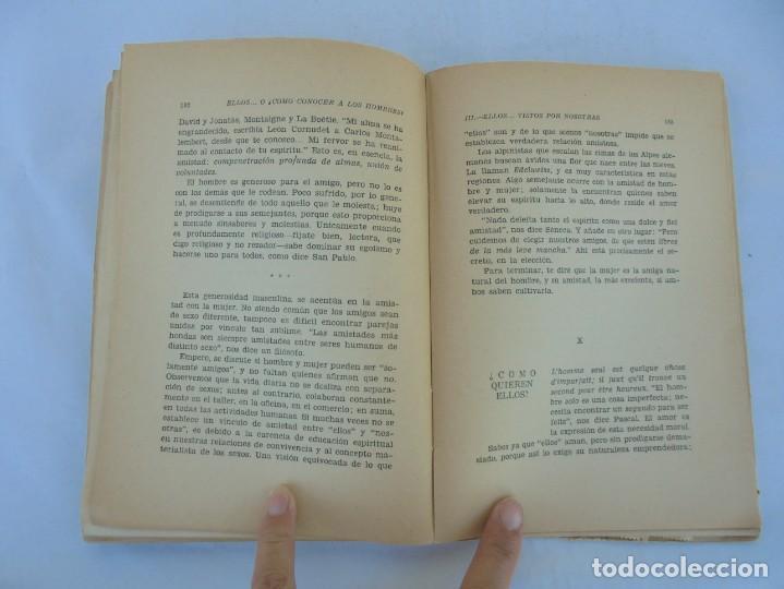 Libros de segunda mano: ELLOS... O ¿COMO CONOCER A LOS HOMBRES?. MARIA ROSA VILAHUR. DEDICADO POR LA AUTORA. 1953 - Foto 18 - 210394010