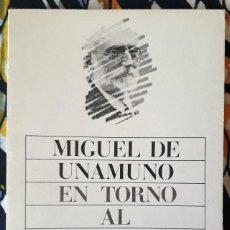 Libros de segunda mano: MIGUEL DE UNAMUNO . EN TORNO AL CASTICISMO. Lote 210721116