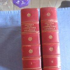 Libros de segunda mano: HISTORIA DE LA LITERATURA ESPAÑOLA. JUAN HURTADO Y ANGEL GOZALEZ. SAETA 1940.. Lote 210936697