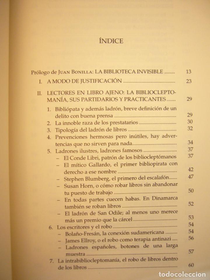 Libros de segunda mano: MIGUEL ALBERO: ENFERMOS DEL LIBRO (UNIVERSIDAD DE SEVILLA, 2013) MUY BUEN ESTADO - Foto 6 - 211642538